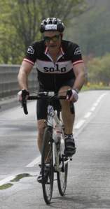 Fergus Hardie's other charity cycle challenge